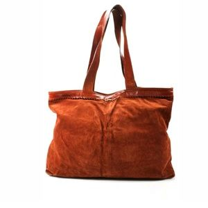 MONDI OVERSIZED SUEDE TOTE BAG